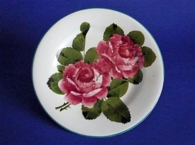 Wemyss Ware 'Cabbage Roses' Tea Plate c1910
